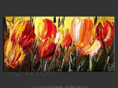 Endless Blossom - modern artwork