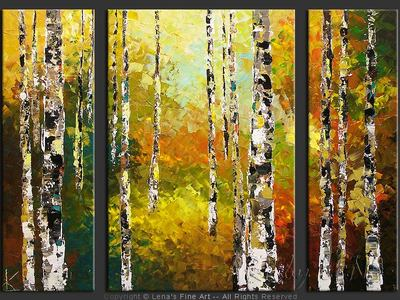 Canadian Birches - wall art
