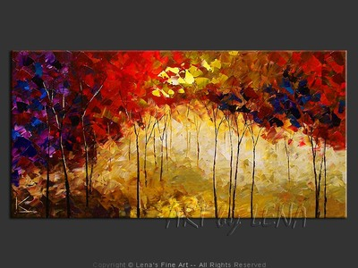 Misty Hill Trail - art for sale
