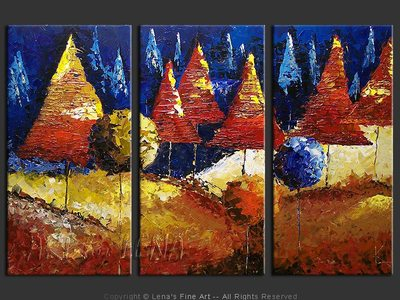 Enchanted Forest - contemporary painting