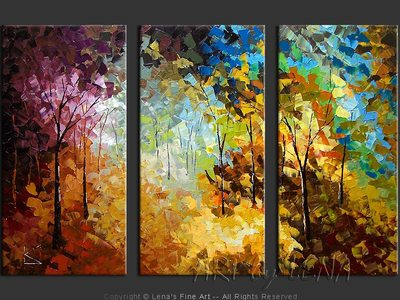 Colors Of The Forest - wall art