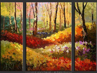 Forest Hills: First Flowers - wall art
