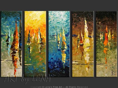 Unforgettable Journey - original painting by Lena Karpinsky