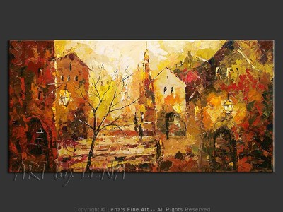Old Town: The Autumn Mood - wall art