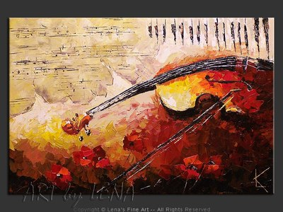 Jascha Heifetz - home decor art