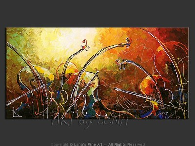 The Music Waves Quintet - modern artwork