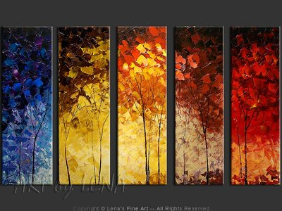 Forest Seasons - wall art