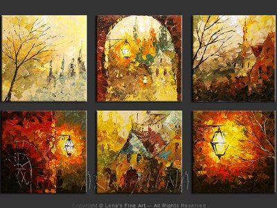 Old City Lights - home decor art