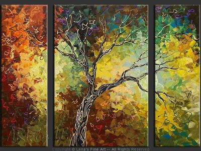 Our Tree - modern artwork