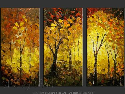 My Golden Autumn - wall art
