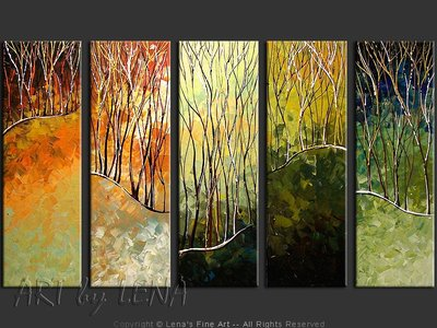 Living Earth - contemporary painting