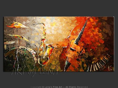 St Louis Sax Quartet - wall art