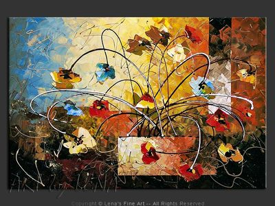 June Ikebana - art for sale