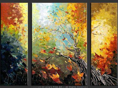Journey To The Sunshine - modern artwork