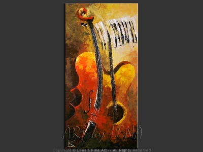 Musical Symbiogenesis - contemporary painting