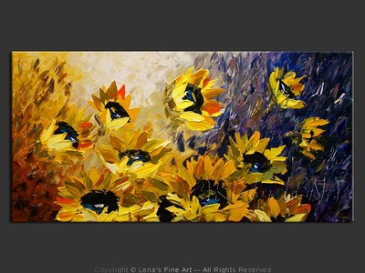 Fargo Sunflower Field - wall art
