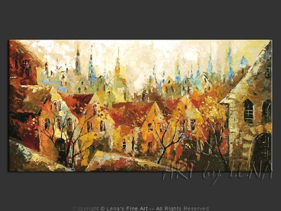 A Story Of Forty Churches - wall art
