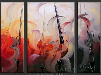 Piu Agitato - contemporary painting