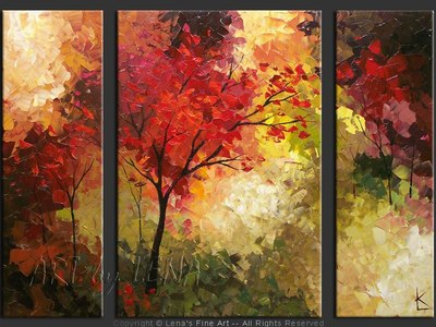 Canadian Fall - home decor art