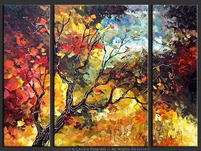 September Sky - contemporary painting