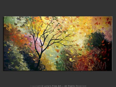 Autumn In Vermont - original painting by Lena Karpinsky