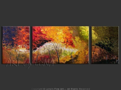 Quebec Autumn Forest - wall art