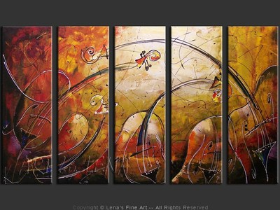 Quiet Storm - contemporary painting