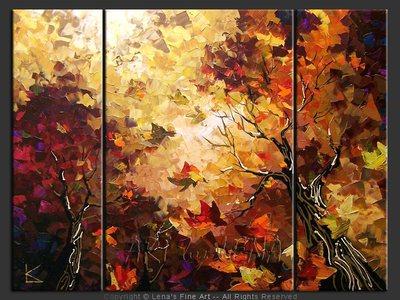 Maple Skyline - wall art