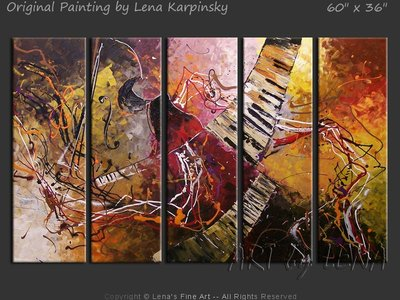 Amazing Jazz - art for sale
