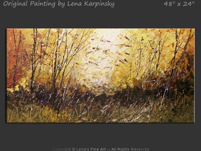 Windy Autumn - art for sale