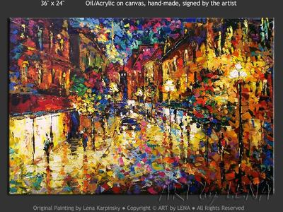 Paris Lights - art for sale