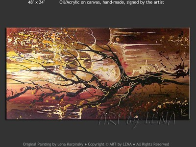 Tree of Mystery - home decor art