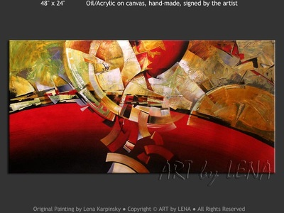 Avant-Garde Etude 4 - contemporary painting
