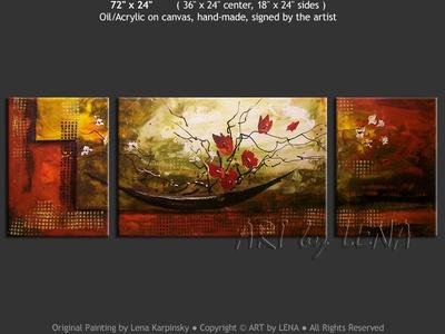 Ikebana #906 - modern artwork