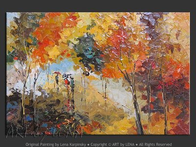 Autumn colours in Quebec - wall art