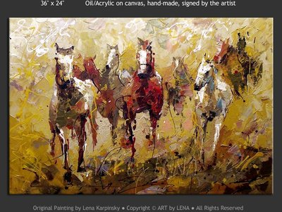 Chevaux Canadiens - art for sale