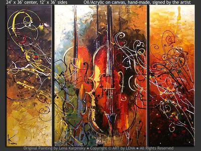 Basso Ostinato - modern artwork