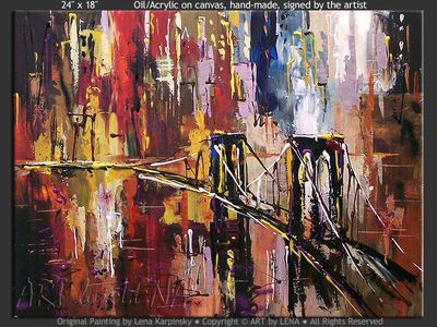 Manhattan Fantasy - art for sale
