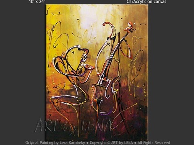 Jazz For Two - art for sale