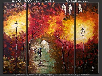 Autumn Lights - art for sale