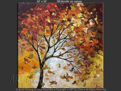 Autumn Palette - home decor art
