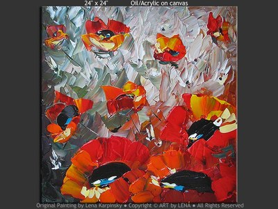 Hawaiian Poppies - wall art