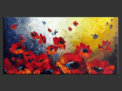 Canadian Poppies - wall art