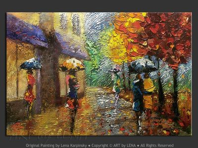 A Rainy Day In Paris - home decor art