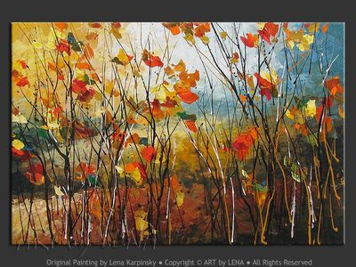 Chanson d'Automne - art for sale