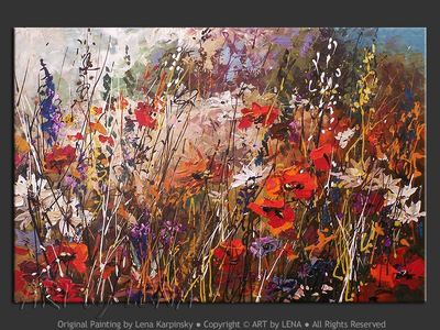 Wildflower Meadows - art for sale