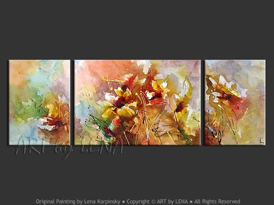 Bouquet - home decor art