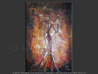 The Jazz Singer - art for sale