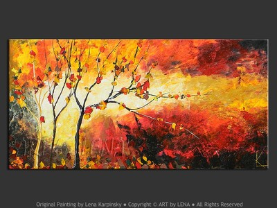 Fiery Autumn - art for sale