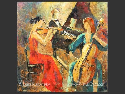 Music of Fire and Ice - home decor art